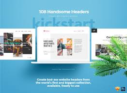Bad Product Designs Handsome Headers Biggest Library Of Creative Website Headers In