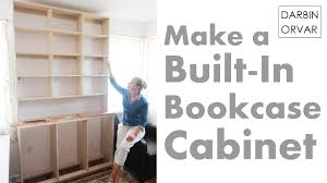 Built In Bookcase Built In Bookcases Cabinet Construction Youtube