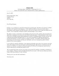 Jd Templates Public Relationscer Cover Letter Yun56 Co Best