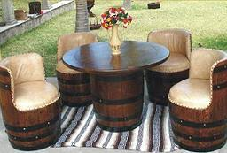 furniture made from barrels. Wine Barrel Furniture Made From Barrels R