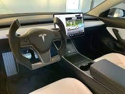 Tesla Model 3 Interior Tesla Model Tesla Accessories Tesla Interior