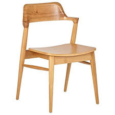 Image Dining Room Amazoncom Rivet Midcentury Modern Wood Dining Chair 30 Amazoncom Amazoncom Rivet Midcentury Modern Wood Dining Chair 30