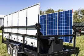 how a portable solar generator works