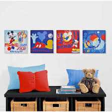 four separated hanging panels mickey mouse wall art word text lettering abstract square shaped products on mickey mouse metal wall art with wall art design ideas four separated hanging panels mickey mouse