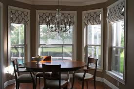 Cool Dining Room Bay Window Curtain Ideas 90 In Modern Dining Room With Dining  Room Bay