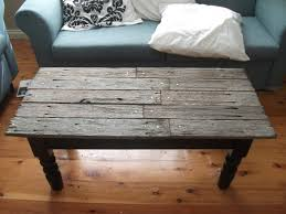 Rustic Wooden Coffee Tables Yonder Years Rustic Reclaimed Wood Large Square Coffee Table