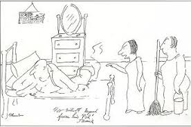 james thurber artist fine art prices auction records for james two women one mop