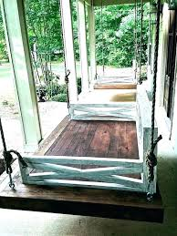 hanging porch swings australia swing bed outdoor daybed plans mesmerizing a design ing ideas beds pictures