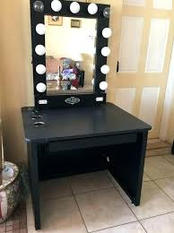 vanity table lighting. Beautiful Light Up Vanity Table With Makeup Tables Awesome Lights Designing 14 Lighting