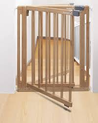 safety st easy close wood safety gate