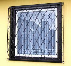 Sichere Gitter Aus Schmiedeeisen Für Fenster Und Türen