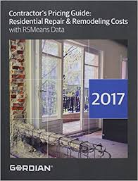 Contractors Pricing Guide 2017 Residential Repair Remodeling