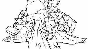 Outstanding Coloring Pages Thor Collection Coloring Pages Anime
