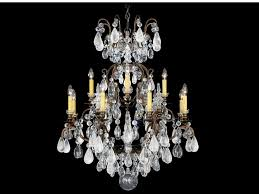 chandelier with swarovski crystals renaissance rock crystal pendant lamp by schonbek