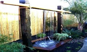 B Outdoor Water Wall How To Build A
