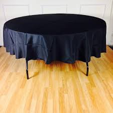 half drop tablecloth