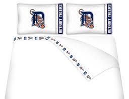 mlb detroit tigers micro fiber bed sheets