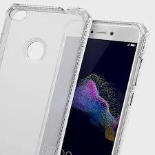 huawei p8 lite white. itskins spectrum huawei p8 lite 2017 gel case - clear white