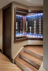 wine room lighting. As You Descend The Stairs To Wine Room Coloured LED Accent Lighting With Unlimited Colour Choices Gives A Warm And Welcoming Feel N