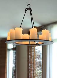 pillar candle chandelier stylish round 40 in 7 nurmibluesphoto com throughout inspirations 0