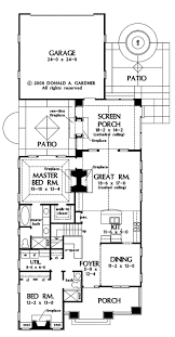 Southern Home Plans With A Side Entry U0026 Wrap Around PorchesClassic Floor Plans