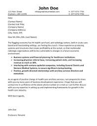Health Care Cover Letter
