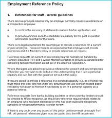 Free Edit Human Resource Reference Letter Employment Request
