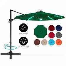 gardens 11 ft patio offset umbrella