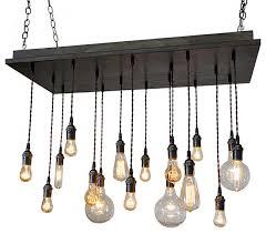 rustic industrial dining room chandelier brass socket antique white base susp