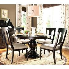 pottery barn round dining table round pedestal dining table home round pedestal dining table elegant design