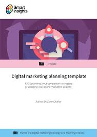 Free Online Template Free Digital Marketing Plan Template Smart Insights