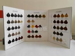 Thousands Of Color Swatches Hair Dye Color Chart China