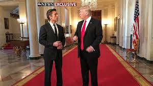 Muir Trump Interviews David News President Abc Transcript Anchor q0wIFTq