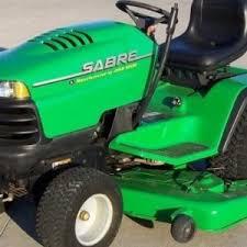 john deere sabre lawn tractor the