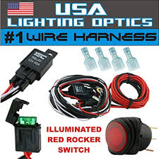 wiring harness for off road lights wiring diagram user amazon com 1 40 amp universal wiring harness for off road led wiring diagram relay off road lights wiring harness for off road lights