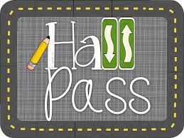 Hall Passes For School When Kids Need A Break Hall Passes With A Purpose Diving For Pearls