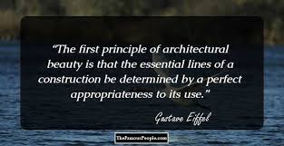 Image result for gustave eiffel words