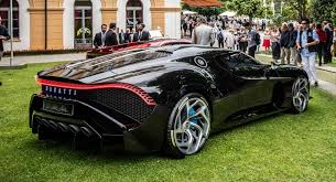 The bugatti la voiture noire pays homage to the brand's design prowess. Bugatti La Voiture Noire Wins Design Award At Concorso D Eleganza Carscoops