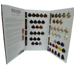 Vitalfarco Maxima Maxima The Art Of Colors Color Chart