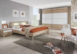 Schlafzimmer 3 Tlg Plus2 Ks Ca 270 Cm U 160x200 Bett Von Rauch Dialog Eiche Sanremo Hell