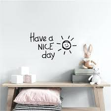 home decor letters have a nice day letters wall stickers kids room fashion home decor style mix color new baby letters wall decor nursery room wall decor