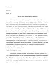 negotiations example negotiation paper joe silvestro spring  11 pages negotiations final essay
