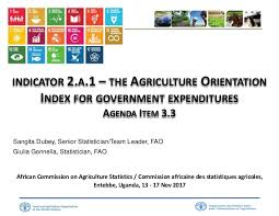Sample Chart Of Accounts For Agriculture The Agriculture Orientation Index For Government Expenditures