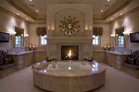 Fancy Fireplace Bathroom Fancy Fireplace In Bathroom Combine Modern Tv Wall Unit