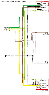 tail light wiring diagram tail wiring diagrams