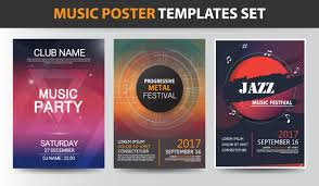 Music Poster Templates Design On Behance