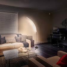 shine hai led arc floor lamp