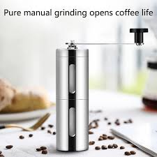 Specifically, ceramic burr grinders usually last through 1,000 to 1,500 pounds of coffee. New Manual Coffee Grinder Mini Stainless Steel Hand Crank Coffee Bean Grinder Ceramic Burr Coffee Mill For French Press Espresso Electric Coffee Grinders Aliexpress