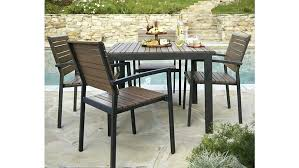 packing crate furniture. Crate And Barrel Outdoor Furniture Sale Goods Patio 6 Table Packing R