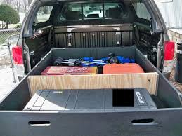 diy bed storage system for my truck toyota tundra forums tundra solutions forum